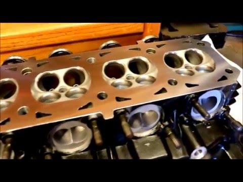 BSR Kawasaki GPZ Cylinder Head Porting & Rebuild.