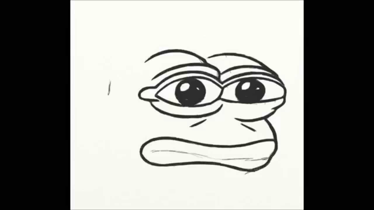 How To Draw Pepe Frog Youtube