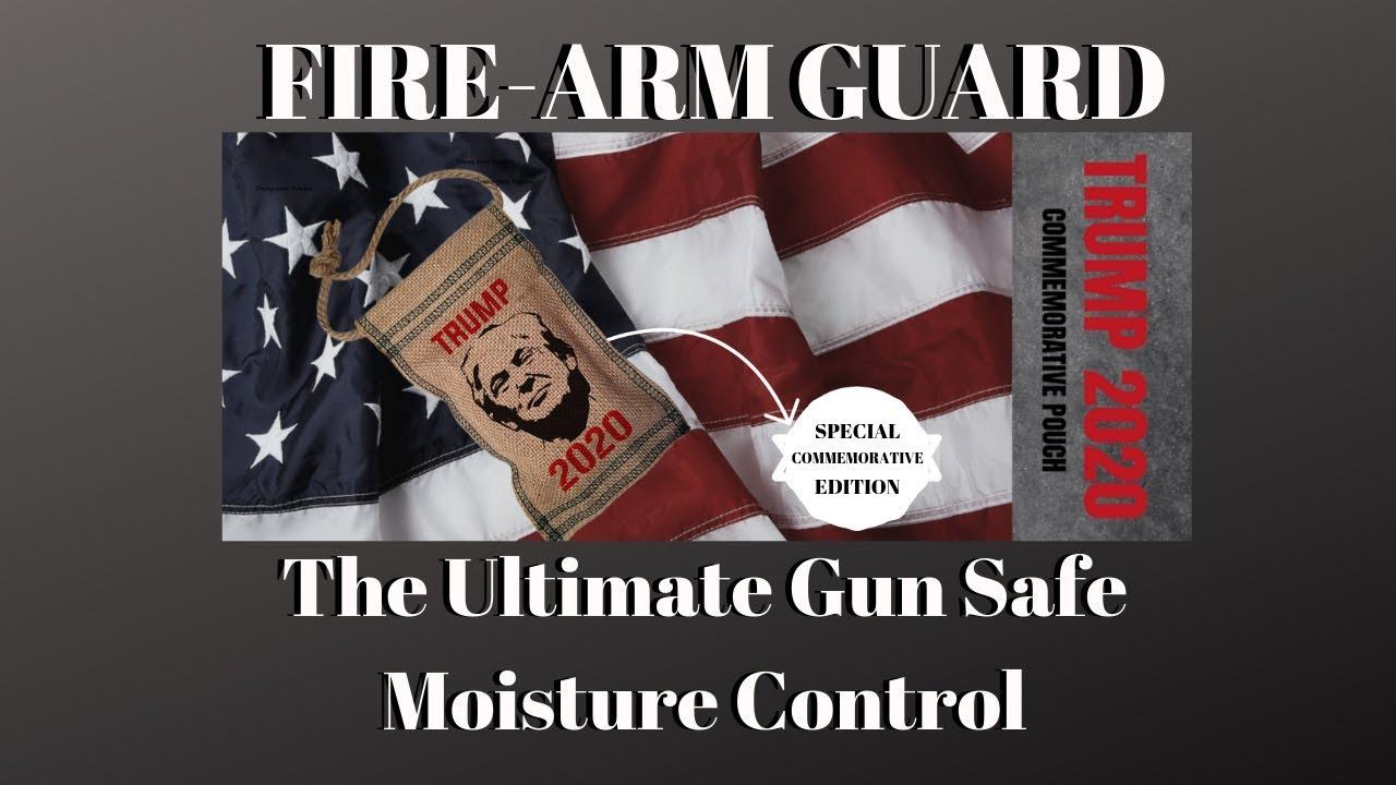 Firearm Guard: The Ultimate Gun Safe Moisture Control (SPECIAL EDITION)