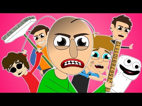 ♪ BALDI'S BASICS THE MUSICAL - Animated Parody Song