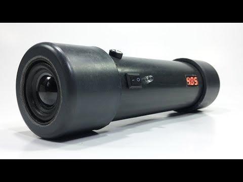 DIY Bluetooth Speaker make using PVC pipe