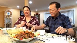 Vlog 63 ll Sườn Rim Sả Ớt Ăn Hết Nồi Cơm - Cuộc Sống Mỹ