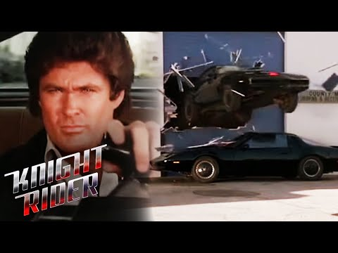 KITT VS KARR - The Showdown | Knight Rider