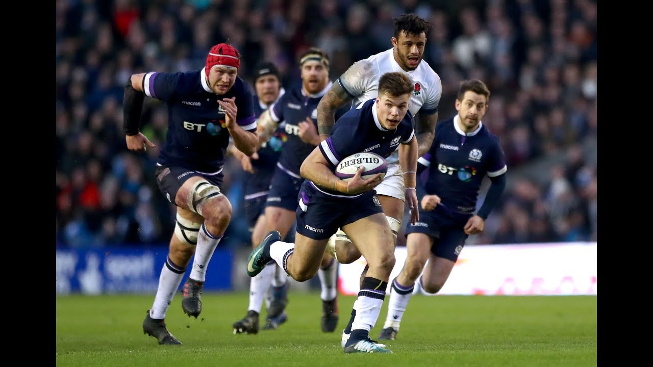 ae22dbb2a5f First half Highlights: Scotland v England | NatWest 6 Nations. Six Nations  Rugby