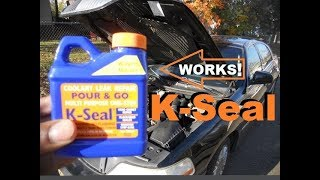 "K-Seal Coolant Repair "" POUR AND GO""  ( HEATER CORE REPAIR )"