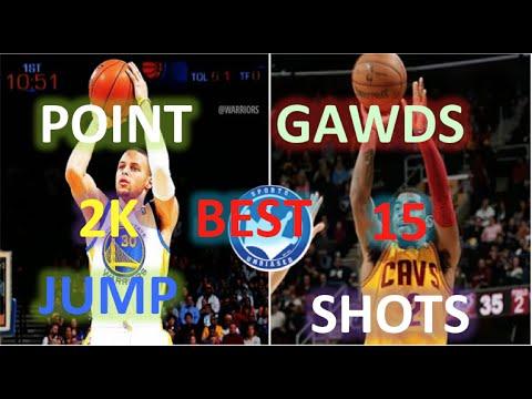 NBA 2K15 BEST JUMP SHOTS POINT GUARDS/ GAWDS