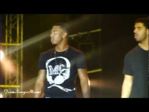 Trey Songz, Drake- Unusual&Succsessful Live @ SpringFest Miami 2011