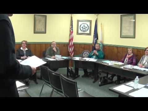 Champlain Village Board Meeting  1-9-17