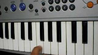 how to play Indian National Anthem on keyboard
