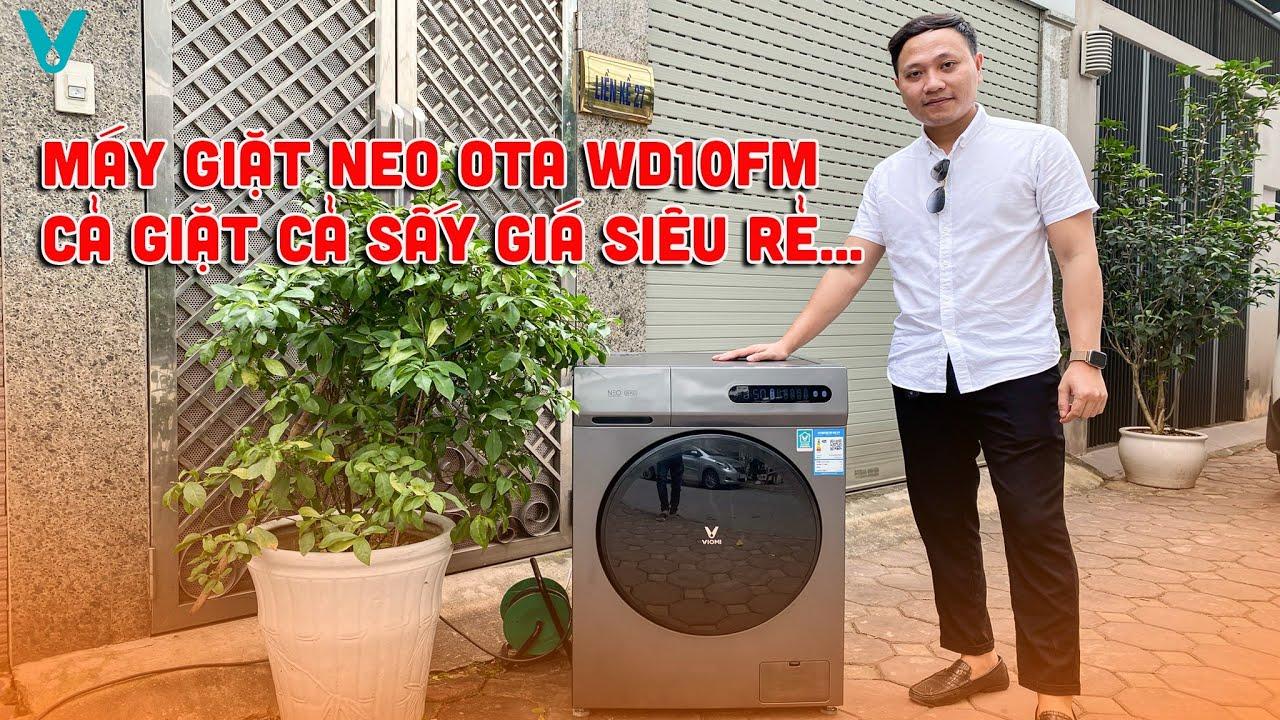 HOT] Máy giặt Xiaomi Viomi NEO OTA 10kg (WD10FM) - Sấy 6Kg - Động cơ biến  tần - Giá Siêu Rẻ - YouTube