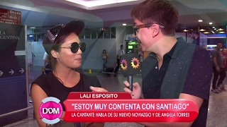 Lali Espósito rompió el silencio y habló de su nuevo noviazgo