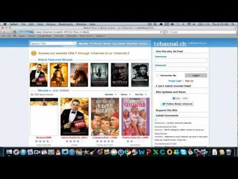 How to download movies for free on a  MAC.. No Torrents!!!