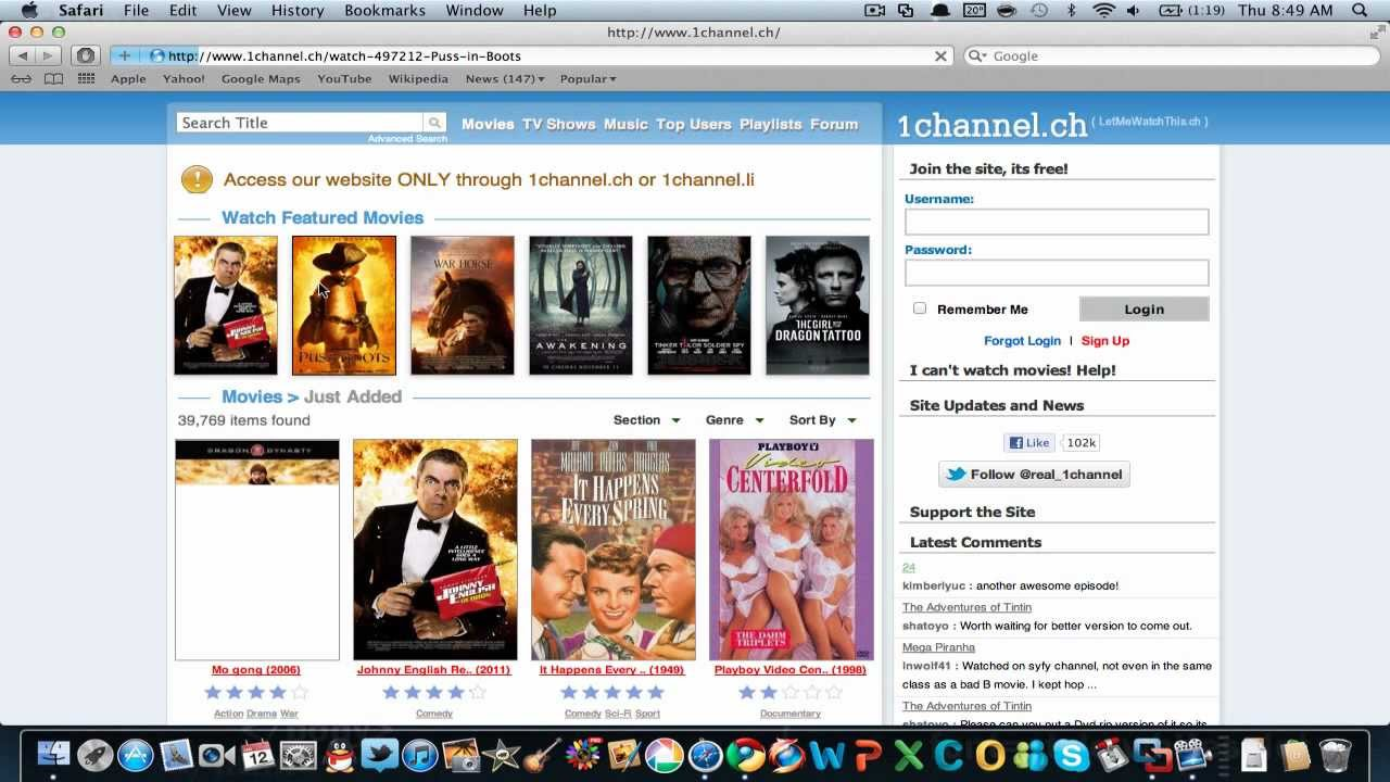 best site to download movies for mac