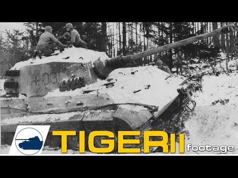 "tiger-ii-""königstiger""-ww2-footage."