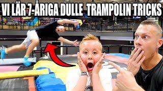 VI LÄR 7-ÅRIGA DULLE TRAMPOLIN TRICKS