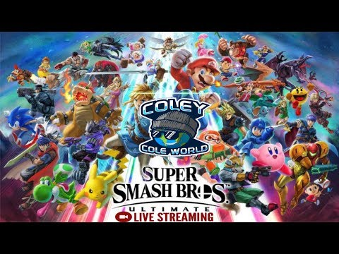 Super Smash Bros Ultimate live Day Stream | Viewers matches thumbnail