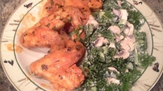 Easy Baked Chicken Wings Keto Low Carb High Fat