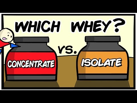 Concentrate Vs Isolate | Which Protein Shake Is Best?