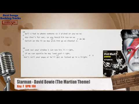 Best Songs Backing Tracks Bsbt Starman David Bowie The Martian