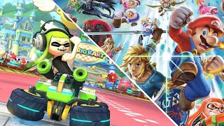 Mario Kart 8 Dekuxe/ Super Smash Bros with Veiwers (friend code in the description)