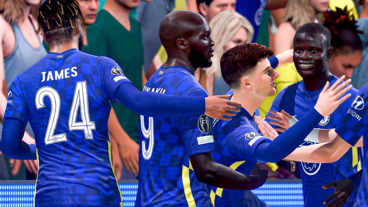 Download FIFA 22 - CHELSEA vs LILLE Ft. Lukaku, Mount, Havertz, (UEFA Champions League) Gameplay & Full match