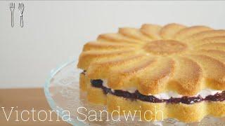 ヴィクトリアケーキ sweets kitchenさんのレシピ書き起こし