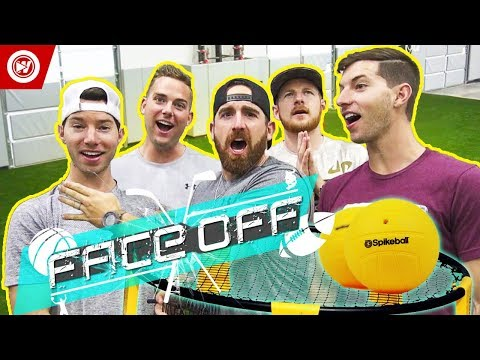 Thumbnail: Dude Perfect Face Off | Spikeball