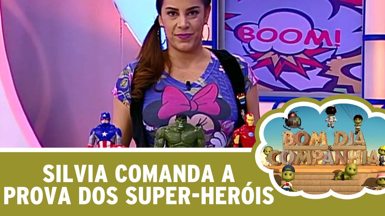Silvia Comanda A Prova Dos