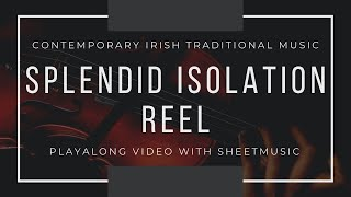 Splendid Isolation Reel: Playalong Contemporary Irish Music + sheet music: Sinead Hayes fiddle/piano