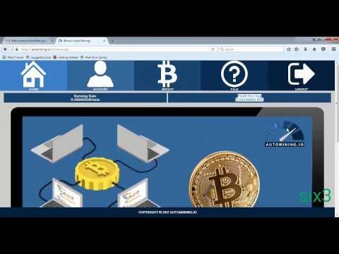 New  FREE Auto Mining Bitcoin 2017