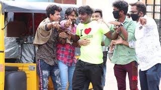 Auto prank | Rickshaw prank | auto Driver prank | Tamil prank | orange mittai | prankster | vj praba