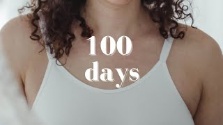 I worked out for 100 days in a row #shorts