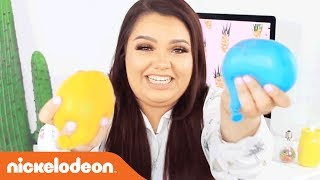 DIY Slime Water Balloon w/ Karina Garcia! | Nick