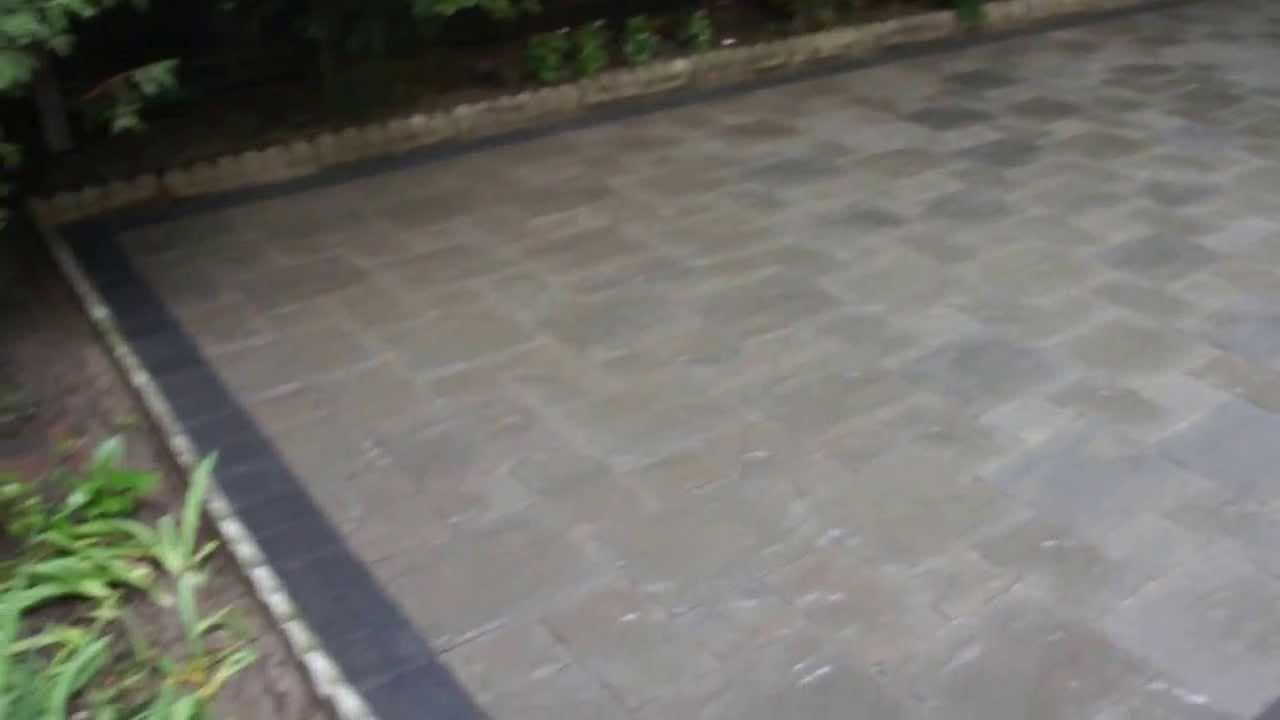 Patio Unilock Thornbury Colour Almond Grove Youtube