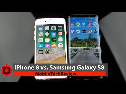 Download Youtube: iPhone 8 vs. Samsung Galaxy S8 Comparison Smackdown