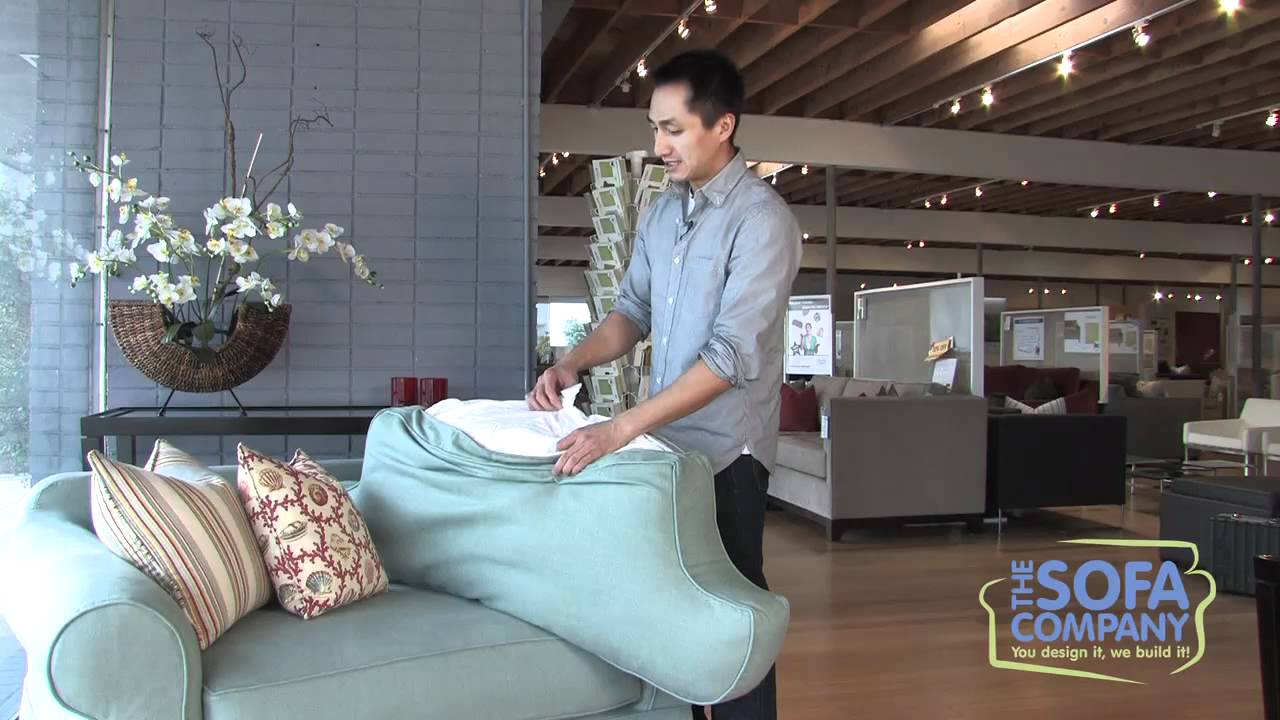 Back Pillow Fill Types   The Sofa Company Training   YouTube