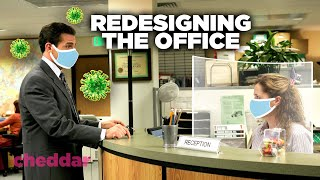 Redesigning The Office for a Post-Coronavirus World - Cheddar Explains