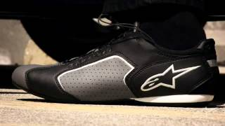 Alpinestars Montreal Shoe with Nylon Speed Lace Closure