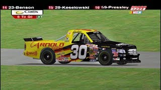 2005 Florida Dodge Dealers 250 Chad Chaffin Flip | NR2003 Reenactment (No Video)
