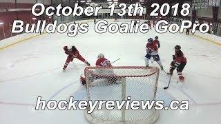 October 13th 2018 Bulldogs Hockey Goalie GoPro