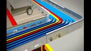 видео Устройство и монтаж кабельных линий