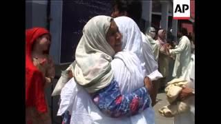 A'math double bombings near border, hospital scenes