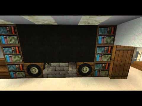 Minecraft einrichtung tutorial 01 schr nke regale und - Minecraft inneneinrichtung ...
