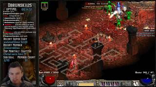 Pushing the Javazon to level 97 - Missed a GG Drop ( - Baal Running !! 02202019