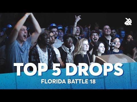 TOP 5 DROPS 😱 Florida Beatbox Battle 2018