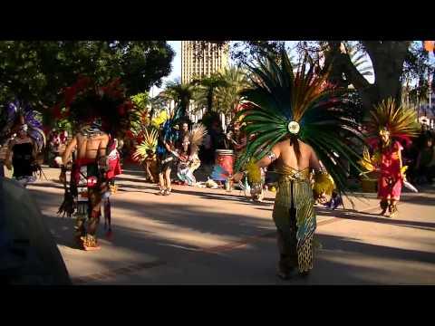 Aztec Dance in los Angeles California