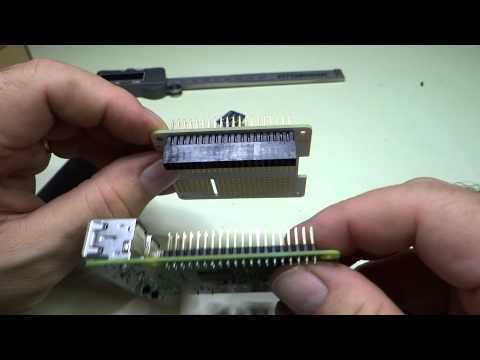 Raspberry Pi stacking connectors