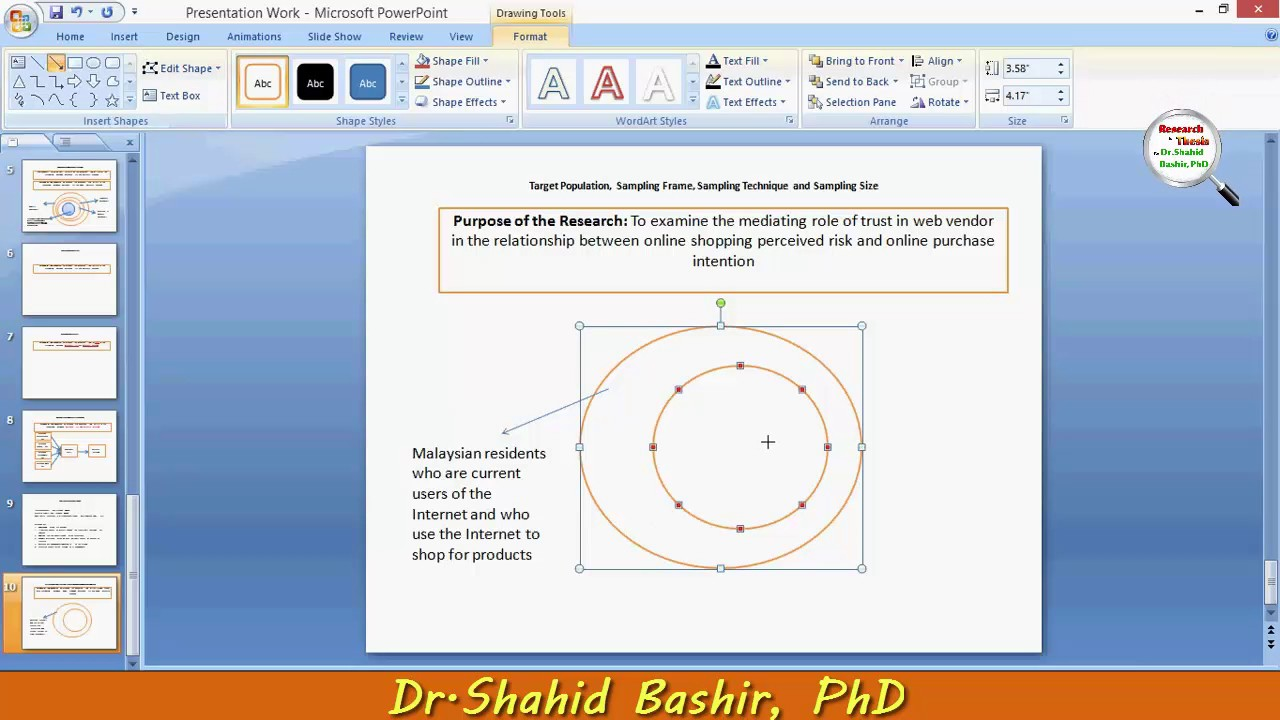 Sampling Frame by Dr.Shahid Bashir, PhD - YouTube