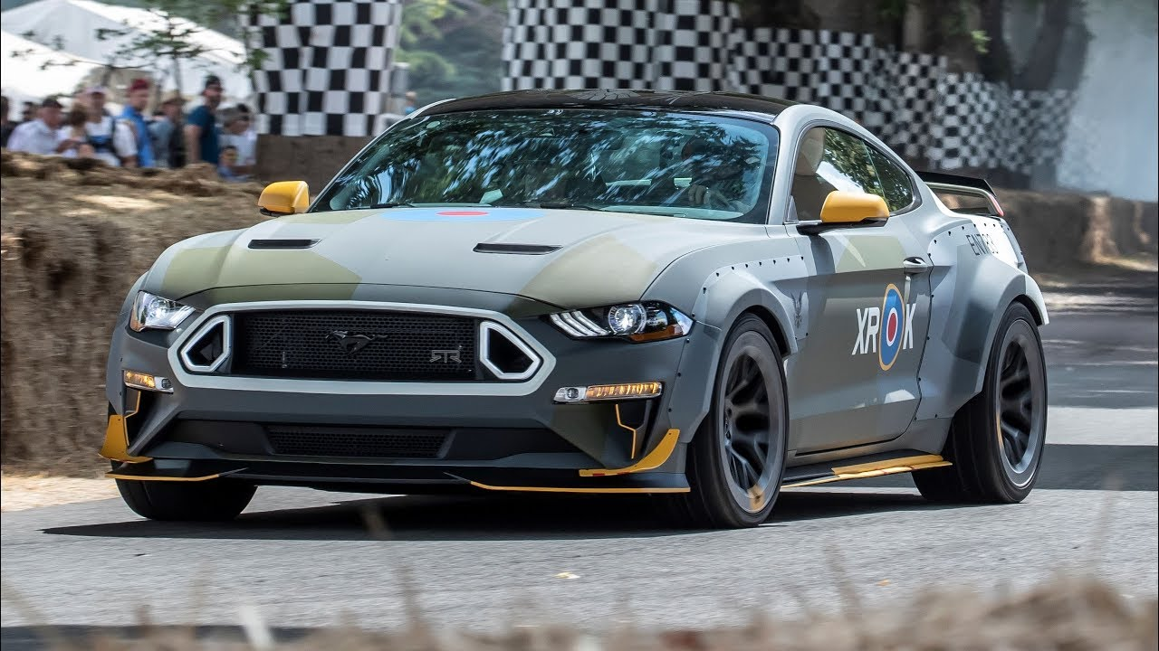Ford Mustang Eagle Squadron Gt Goodwood 2018