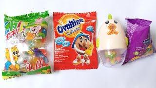 Học màu sắc Tiếng Anh với kẹo Hải Hà, kẹo Ovaltine qua bài hát  The Finger Family